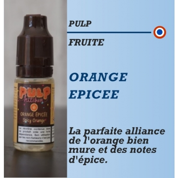Pulp - ORANGE EPICEE - 10ml