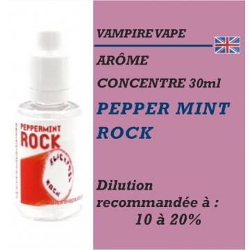 VAMPIRE VAPE - ARÔME PEPPER MINT ROCK - 30 ml