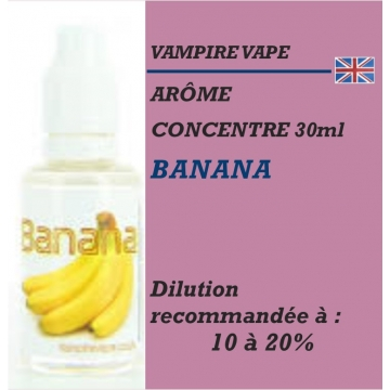 VAMPIRE VAPE - BANANA - 30 ml