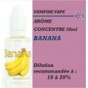 VAMPIRE VAPE - ARÔME BANANA - 30 ml