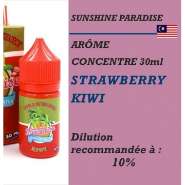 SUNSHINE PARADISE - ARÔME STRAWBERRY KIWI - 30 ml