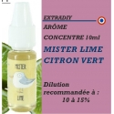 EXTRADIY - ARÔME CITRON VERT - 10 ml