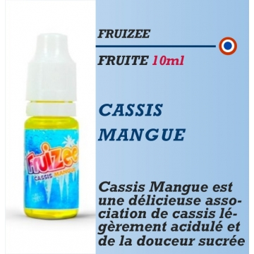 Fruizee - CASSIS MANGUE - 10-50-60-70ml