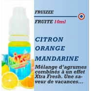 Fruizee - CITRON ORANGE MANDARINE - 10ml