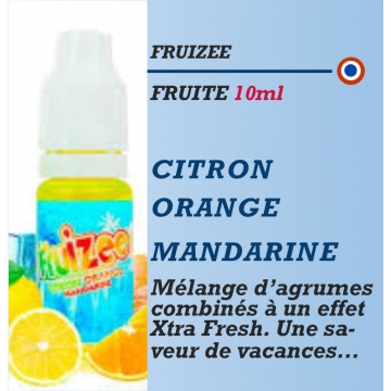 Fruizee - CITRON ORANGE MANDARINE - 10-50-60-70ml