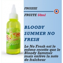 Fruizee - BLOODY SUMMER NO FRESH - 50ml