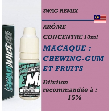 Swag Remix - ARÔME MACAQUE - 10 ml
