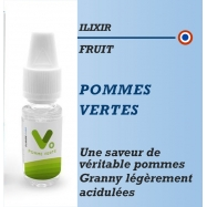 Ilixir - VEGETOL CLOUD POMMES VERTES - 10ml