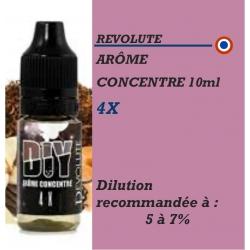 REVOLUTE - ARÔME 4 X - 10 ml