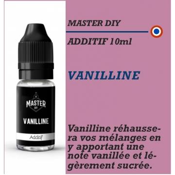 MASTER DIY - ADDITIF VANILLINE - 10 ml