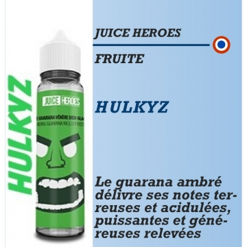 Juice Heroes - HULKYZ - 50ml