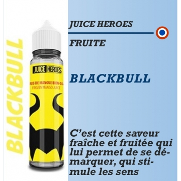 Juice Heroes - BLACKBULL - 50ml