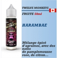 Twelve Monkeys - HARAMBAE - 50ml