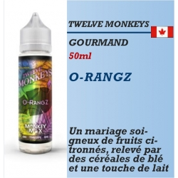 Twelve Monkeys - O-RANGZ - 50ml