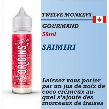 Twelve Monkeys - SAIMIRI - 50ml