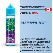Twelve Monkeys - MATATA ICE - 50ml
