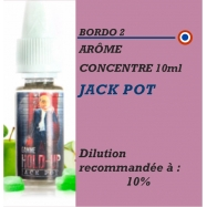 BORDO 2 - ARÔME JACK POT- 10 ml