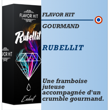 Flavor Hit - RUBELLIT - 10ml