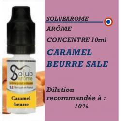 SOLUBAROME - ARÔME CARAMEL BEURRE SALE - 10 ml