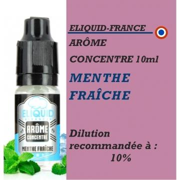 ELIQUIDFRANCE - AROME MENTHE FRAICHE - 10 ml