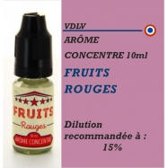 VDLV - ARÔME FRUITS ROUGES - 10 ml