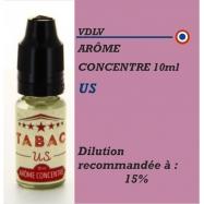 VDLV - ARÔME TABAC US - 10 ml