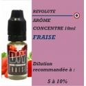 REVOLUTE - ARÔME FRAISE - 10 ml
