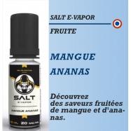 Salt E-Vapor - MANGUE ANANAS - 10ml
