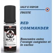 Salt E-Vapor - RED COMMANDER - 10ml