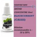 VAMPIRE VAPE - ARÔME BLACKCURRANT (cassis) - 30 ml