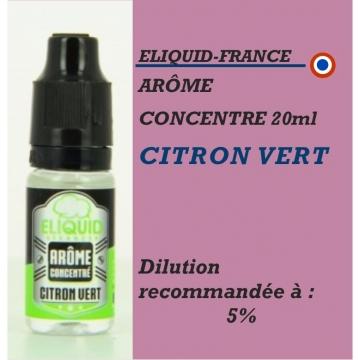ELIQUIDFRANCE - ARÔME CITRON VERT - 10 ml