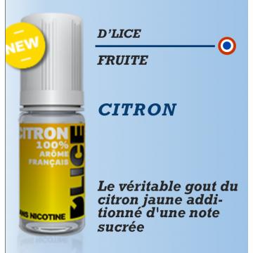 D'Lice - CITRON - 10ml