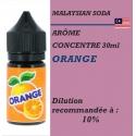 MALAYSIAN SODA - CONCENTRE ORANGE - 30ml