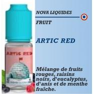 Nova Liquides - ARTIC RED - 10ml