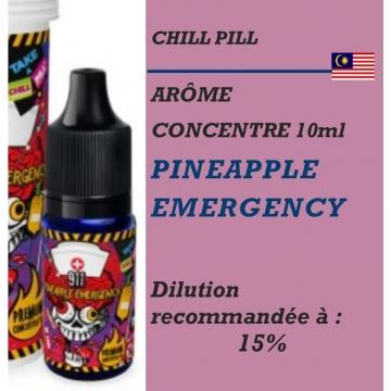 CHILL PILL - ARÔME PINEAPPLE EMERGENCY - 10 ml