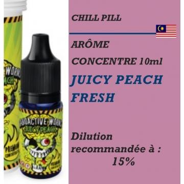 CHILL PILL - ARÔME JUICY PEACH FRESH - 10 ml
