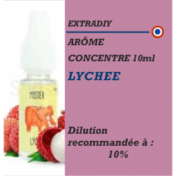 EXTRADIY - ARÔME LYCHEE - 10 ml