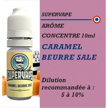 SUPERVAPE - ARÔME CARAMEL BEURRE SALE - 10 ml