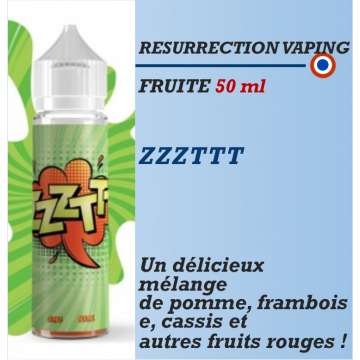 Resurrection Vaping - ZZZTTT - 50ml