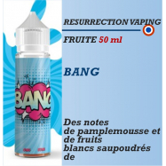 Resurrection Vaping -BANG - 50ml