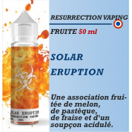 Resurrection Vaping -SOLAR ERUPTION - 50ml