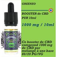 CBD - BOOSTER GREENBOOST 1000 mg GREENEO - 10 ml
