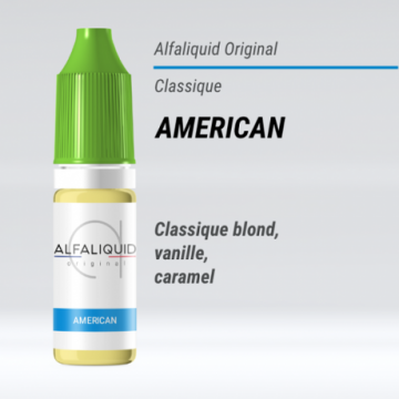 Alfaliquid - AMERICAN - 10ml