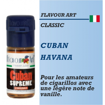 FLAVOUR ART - CUBAN AVANA - 10ml