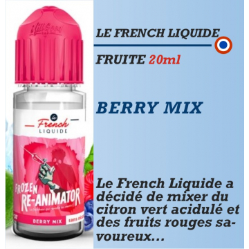 Le French Liquide - BERRY MIX - 20ml