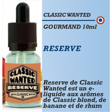 Classic Wanted - RESERVE - 10ml