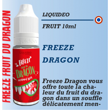 Liquideo - FREEZE DRAGON - 10ml