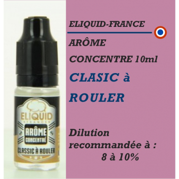ELIQUIDFRANCE - AROME CLASSIC à ROULER (USA) - 10 ml