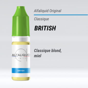Alfaliquid - BRITISH - 10ml