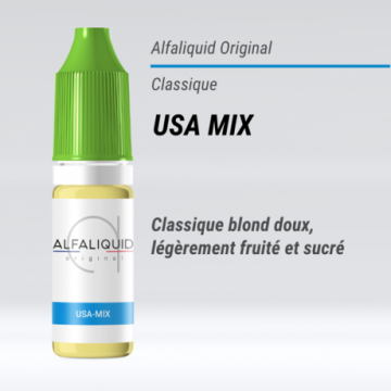 Alfaliquid - USA MIX - 10ml